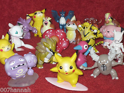 Tomy Pokemon-Figur zur Auswahl (to choose)/gebraucht/figure,figurines,figures/G4