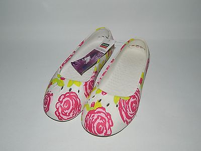 Town & Country Limited Edition Floral Patterned Lightweight Garden Shoes UK 4
