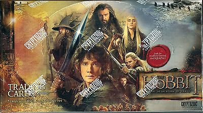 The Hobbit Desolation Of Smaug Factory Sealed Trading Card Hobby Box