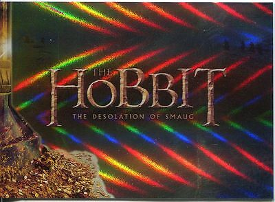 The Hobbit Desolation Of Smaug Complete 72 Card Foil Parallel Base Set