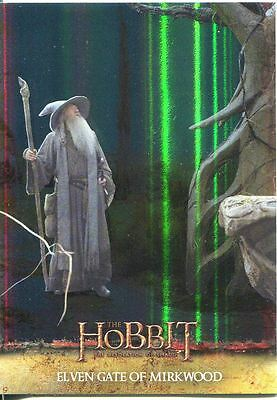 The Hobbit Desolation Of Smaug Parallel Foil Base Card #6