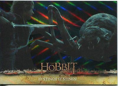 The Hobbit Desolation Of Smaug Parallel Foil Base Card #10