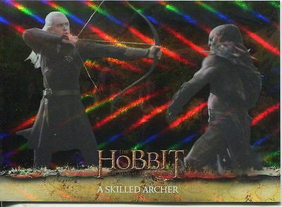 The Hobbit Desolation Of Smaug Parallel Foil Base Card #21