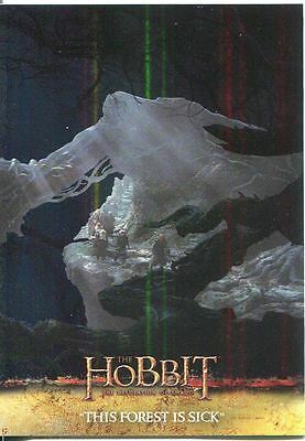 The Hobbit Desolation Of Smaug Parallel Foil Base Card #7