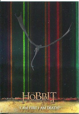 The Hobbit Desolation Of Smaug Parallel Foil Base Card #71