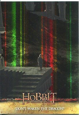 The Hobbit Desolation Of Smaug Parallel Foil Base Card #55