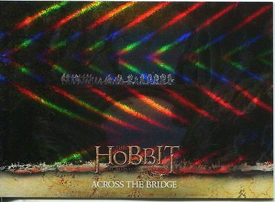 The Hobbit Desolation Of Smaug Parallel Foil Base Card #12