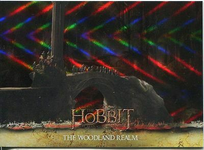 The Hobbit Desolation Of Smaug Parallel Foil Base Card #13