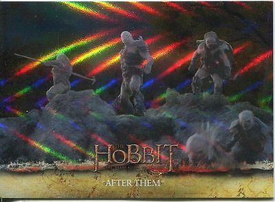 The Hobbit Desolation Of Smaug Parallel Foil Base Card #22