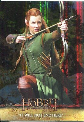 The Hobbit Desolation Of Smaug Parallel Foil Base Card #42