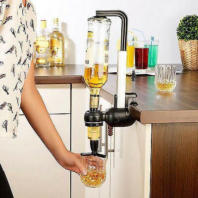 Single Rotary 1 Shot Wine Beverage Alcohol Dispenser Bar Butler Party Tool