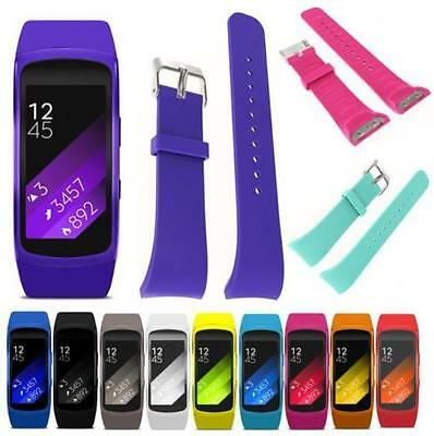 Silicone Fitness Replacement Band Wrist Strap For Samsung Galaxy Gear Fit 2 R360