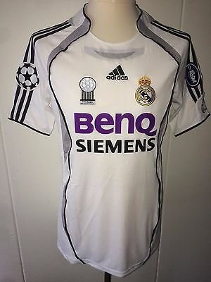 Ronaldo Real Madrid match worn Issued CL shirt 06/07 Brazil Formotion Inter