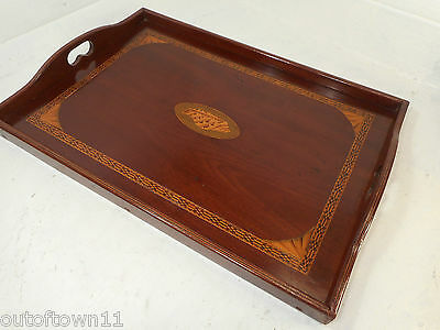 Antique Mahogany Tray  , ref 2585