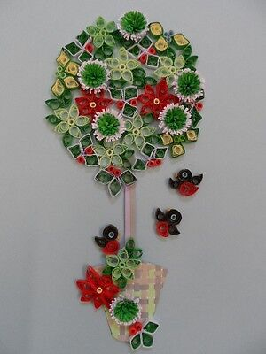 Quilling Kit - Quill A Bay Tree For Winter