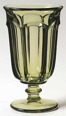 Imperial Glass Ohio OLD WILLIAMSBURG VERDE GREEN Iced Tea Glass 5939635