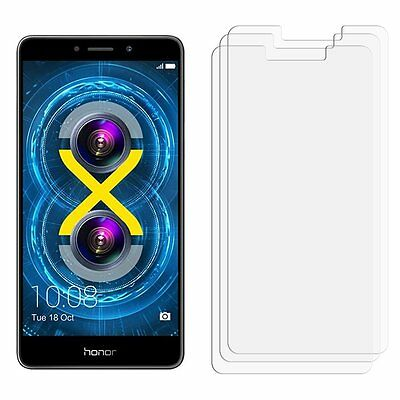 2 x Clear 100% Membrane Screen Protector For Huawei Honor 6X