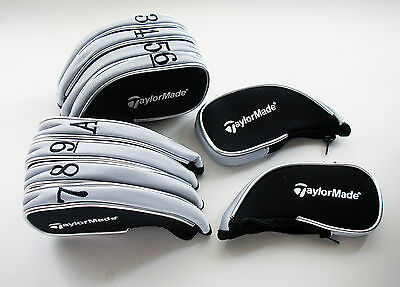 Taylormade Iron Covers For Complete Protection Black/grey