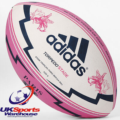 adidas Torpedo Stade Francais Size 5 Rugby Ball - Brand New & Bagged - rrp£35