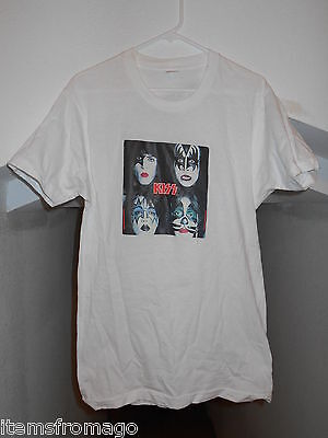 1979 Original KISS AUCOIN Heat Transfer Iron On Vintage Shirt - DYNASTY ALBUM