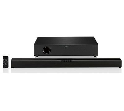 Logik L32Swlb16 2.1 120W Bluetooth Tv Sound Bar Speaker Wireless Subwoofer