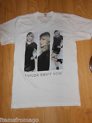 Taylor Swift NOW Tee t shirt by American Apparel Exclusive AT&T - LARGE