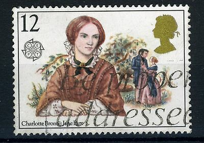 GB SG 1125ea 1980 12p Jane Eyre, R4/6 missing 'p' fine used
