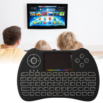 Mini Wireless 2.4G QWERTY Keyboard Touchpad Mouse for Android Smart TV Box AC786