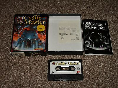 Castle Master By Domark For The Zx Spectrum Big Box Tested Working