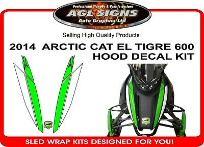 2014 ARCTIC CAT EL TIGRE 600 DECAL KIT ,  6000 sticker