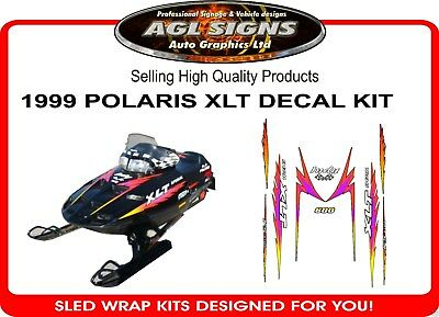 1999 POLARIS INDY XLT SPECIAL SLED DECALS  graphics 600