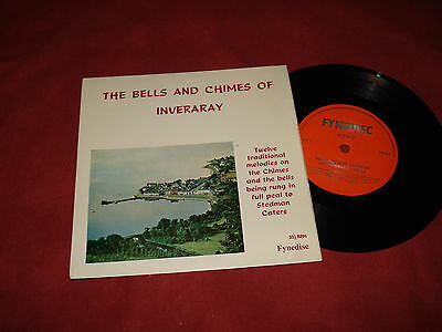 """THE BELLS OF INVERARARY Traditional melodies 7"""" EP EASY  BELLRINGING SCOTLAND"""