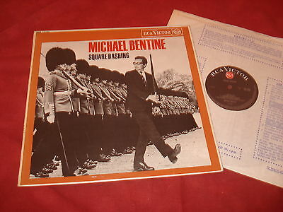 MICHAEL BENTINE Square bashing LP POP COMEDY
