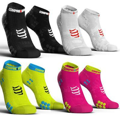 Compressport Pro Racing Socks V3.0 Run Low Smart/Fluo Lauf Sport Running Socken