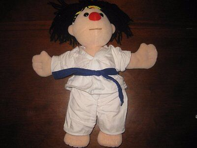 "Big Comfy Couch Molly Doll In Karate Outfit 16"" Plush"