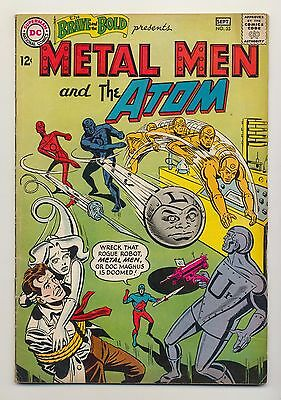 Brave and the Bold #55 (1964) VG (4.0) ~ Metal Men & the Atom ~ Bob Haney