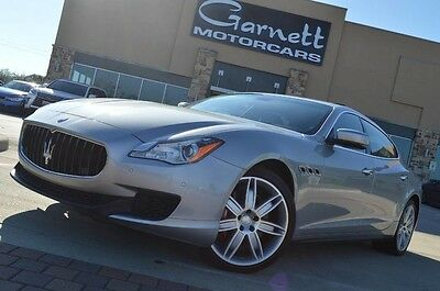 2014 Maserati Quattroporte S Q4 Sedan 4-Door 2014 MASERATI QUATTROPORTE SQ4 V6! 410HP! 20 SPORT PACKAGE! WE FINANCE! CALL