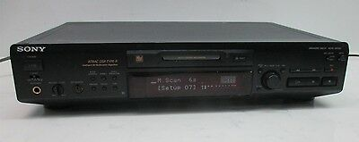 SONY MDS-JE630 Minidisc Deck ATRAC DSP Type-R Stereo Deck MD Player Recorder