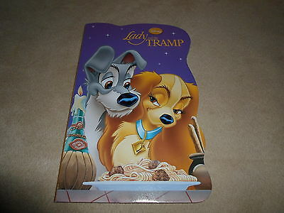 """Disney Classic Lady And The Tramp Board Book, 2013~8"""" X 5"""", For Ages 3 & Up, NEW"""