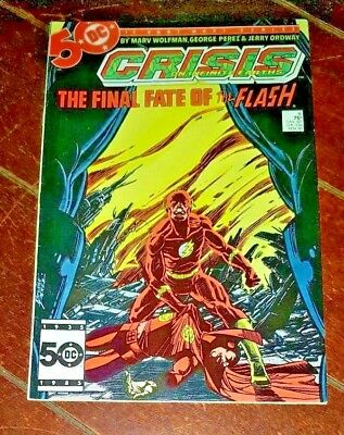 Crisis on Infinity Earth #8, (1985. DC): The Final Fate of the Flash!