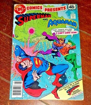 DC Comics Presents - Superman/Aquaman #5, (1979, DC) Free Shipping!