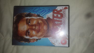 Dexter Signed Dvd Boxset Michael C Hall Hand Signed Second Season 2Nd Series