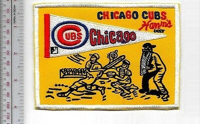 Beer Baseball Chicago Cubs & Hamm's Beer National League 1960 Promo Patch