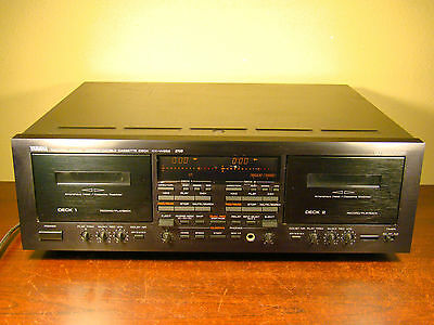Yamaha Kx-W952 Stereo Double Cassette Deck Tape Player Recorder Dual Deck Kxw952