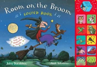 Room on the Broom Sound Book by Julia Donaldson 9780230766242 (Hardback, 2012)