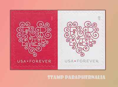 2015 Forever Hearts Horizontal Pair