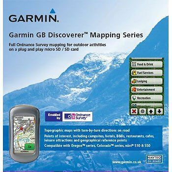 Garmin - Cartes topographiques Yorkshire Dales (version GB) - [DISCOVERER] NEUF