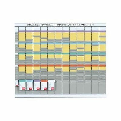Nobo - Kit Planning Annuel 13 Colonnes 32 Fentes - 2990700 NEUF