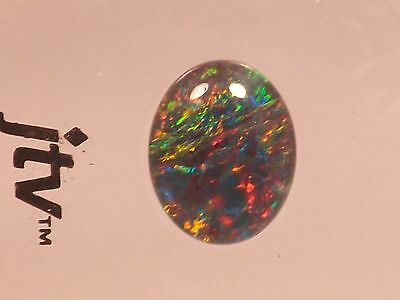 Natural Australian Opal Triplet new in original sealed case Gorgeous!