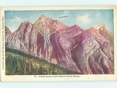 Divided-Back RUSTIC SCENE West Glacier Montana MT hk3956